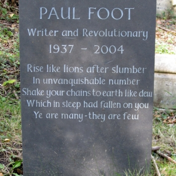 Paul Foot, investigative journalist, political campaigner and author