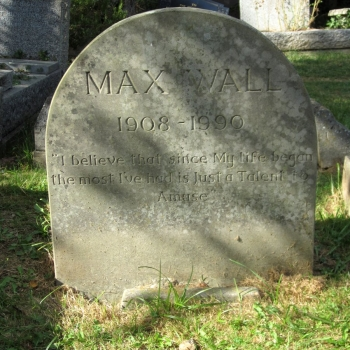 Max Wall, comedian and actor